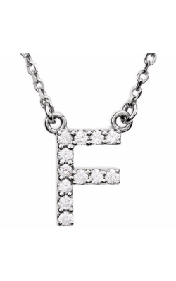 Fashion Jewelry By Mastercraft Diamond Necklace 67311-105 product image