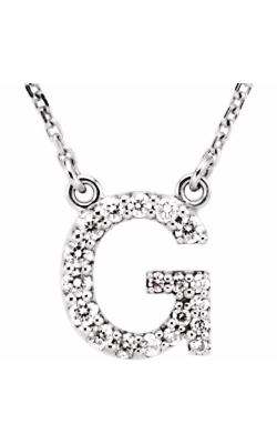 Fashion Jewelry By Mastercraft Diamond Necklace 67311-106 product image