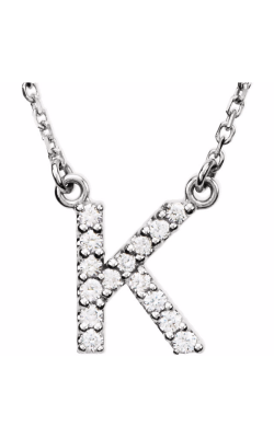 Fashion Jewelry By Mastercraft Diamond Necklace 67311-110 product image