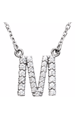 Fashion Jewelry By Mastercraft Diamond Necklace 67311-112 product image