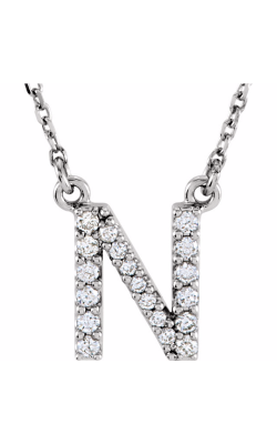 Fashion Jewelry By Mastercraft Diamond Necklace 67311-113 product image