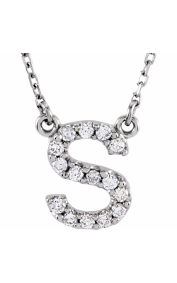 Fashion Jewelry By Mastercraft Diamond Necklace 67311-118 product image