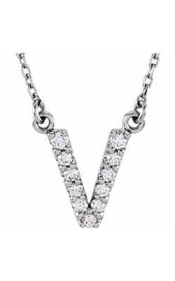 Fashion Jewelry By Mastercraft Diamond Necklace 67311-121 product image