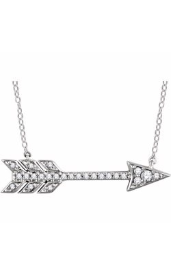 Fashion Jewelry By Mastercraft Diamond Necklace 651830 product image