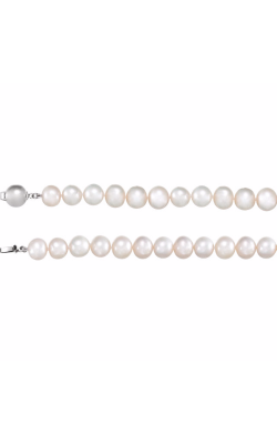 Fashion Jewelry By Mastercraft Pearl Necklace 66659 product image