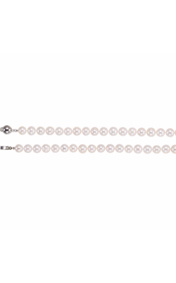 Fashion Jewelry By Mastercraft Pearl Necklace 67626 product image