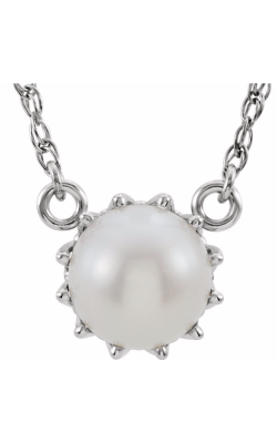 Fashion Jewelry By Mastercraft Pearl Necklace 85891 product image