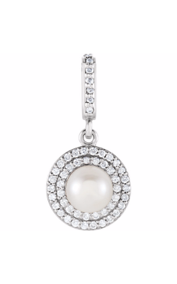 Fashion Jewelry By Mastercraft Pearl Necklace 85909 product image