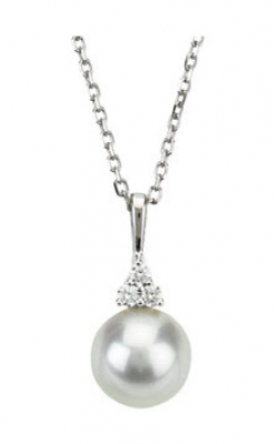 Fashion Jewelry By Mastercraft Pearl Necklace 67461 product image