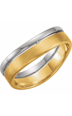 Sharif Essentials Collection Men's Wedding Bands Wedding Band 51335 product image