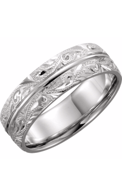 Sharif Essentials Collection Men's Wedding Bands Wedding Band 51325 product image