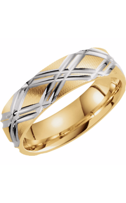 Sharif Essentials Collection Men's Wedding Bands Wedding Band 51257 product image