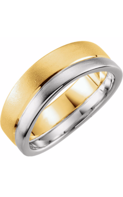 Sharif Essentials Collection Men's Wedding Bands Wedding Band 51336 product image