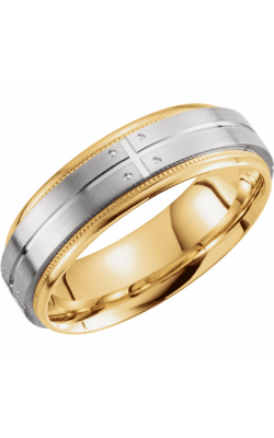 Sharif Essentials Collection Men's Wedding Bands Wedding Band 51262 product image