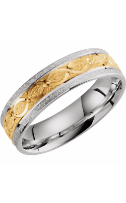 Sharif Essentials Collection Men's Wedding Bands Wedding Band 51263 product image