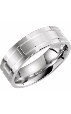 Sharif Essentials Collection Men's Wedding Bands Wedding Band 51268 product image