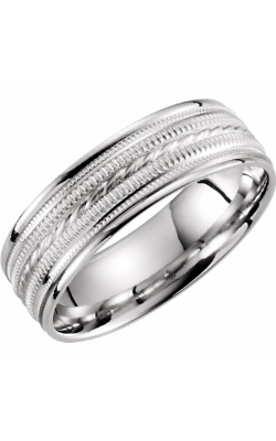 Sharif Essentials Collection Men's Wedding Bands Wedding Band 51289 product image