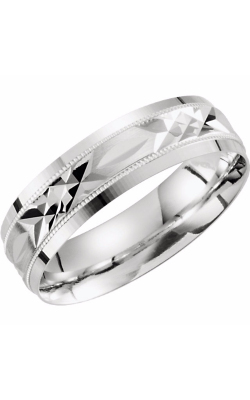 Sharif Essentials Collection Men's Wedding Bands Wedding Band 51290 product image