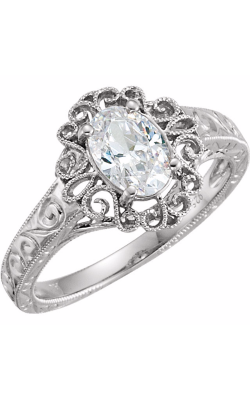 DC Solitaire Engagement Ring 651722 product image