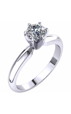 Princess Jewelers Collection Solitaire Engagement Ring 140309L product image