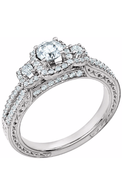 DC Halo Engagement Ring 651712 product image
