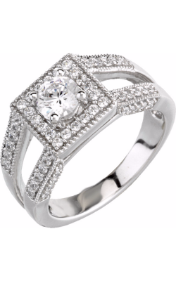 Stuller Halo Engagement Ring 63983 product image