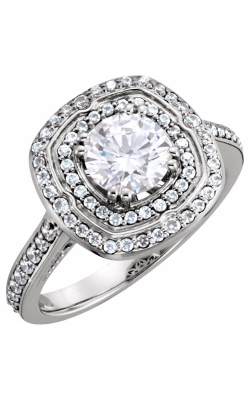 Princess Jewelers Collection Halo Engagement Ring 122470 product image