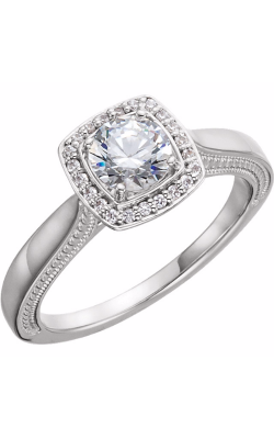 Sharif Essentials Collection Halo Engagement Ring 122512 product image