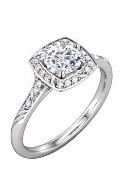 Sharif Essentials Collection Halo Engagement Ring 121960 product image