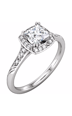 Princess Jewelers Collection Halo Engagement ring 122020 product image