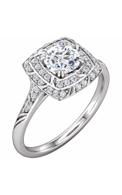 Sharif Essentials Collection Halo Engagement Ring 121961 product image