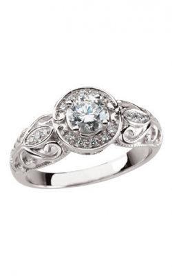 Sharif Essentials Collection Halo Engagement Ring 62294 product image