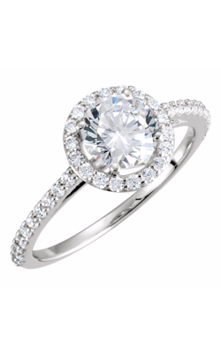 Sharif Essentials Collection Halo Engagement Ring 121860 product image