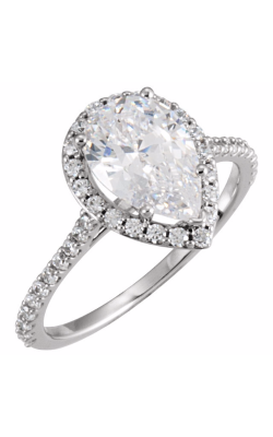 Princess Jewelers Collection Halo Engagement Ring 121862 product image