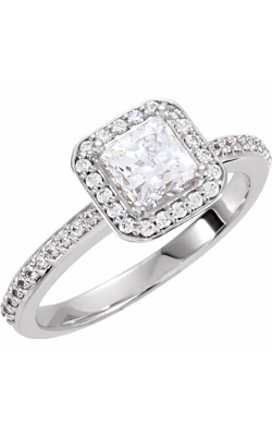 Princess Jewelers Collection Halo Engagement ring 121734 product image