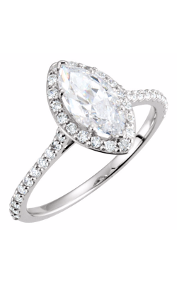Sharif Essentials Collection Halo Engagement Ring 121861 product image