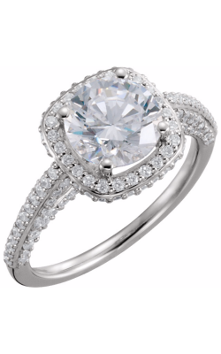 Princess Jewelers Collection Halo Engagement Ring 121892 product image