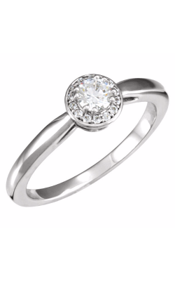 Sharif Essentials Collection Halo Engagement Ring 121578 product image