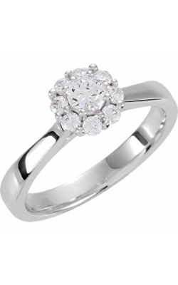 Sharif Essentials Collection Halo Engagement Ring 121688 product image