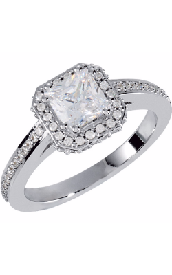 Princess Jewelers Collection Halo Engagement Ring 121628 product image