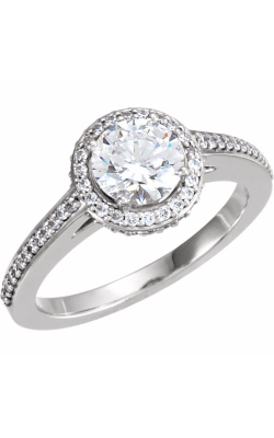 DC Halo Engagement Ring 121620 product image