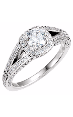 Sharif Essentials Collection Halo Engagement Ring 121680 product image