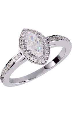 Sharif Essentials Collection Halo Engagement Ring 121631 product image