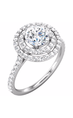Sharif Essentials Collection Halo Engagement Ring 121859 product image