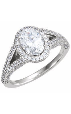 Sharif Essentials Collection Halo Engagement Ring 121632 product image