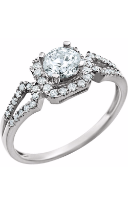 Stuller Halo Engagement Ring 651770 product image