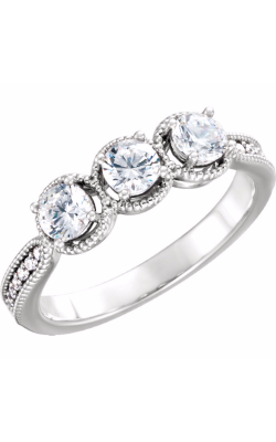 Sharif Essentials Collection Three Stones Engagement Ring 122736 product image