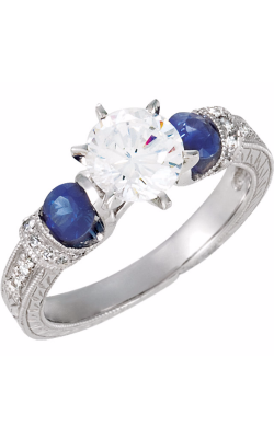 Stuller Three Stones Engagement Ring 69825 product image