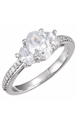 Sharif Essentials Collection Three Stones Engagement Ring 121633 product image