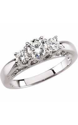 DC Three Stones Engagement Ring 63054 product image